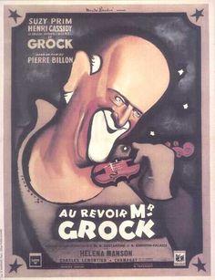 Au Revoir M. Grock poster - Google Search