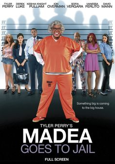 A high-speed freeway chase puts pistol-packin' Madea before a judge, who then puts her behind bars!