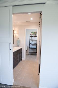 12 x 24 linen look bathroom tile
