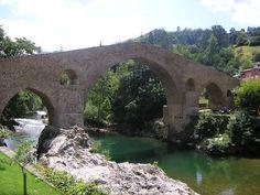 Publicamos el Puente Romano de Cangas de Onís, aunque no es romano