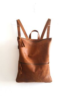 leather purses and handbags Brown Leather Laptop Bag, Leather Backpack Purse, Black Leather Tote, Leather Purses, Leather Handbags, Leather Backpacks, Teen Backpacks, Leather Bags, School Backpacks