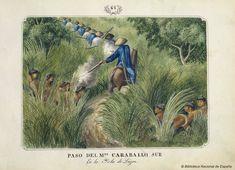 [Paso del Monte caraballo sur]. Lozano, José Honorato 1821- — Dibujo — 1847