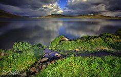 Sheosar Lake - Shoesar Lake , Deosai Plains , Baltistan.Pakistan  Long Exposure Using B W ND110