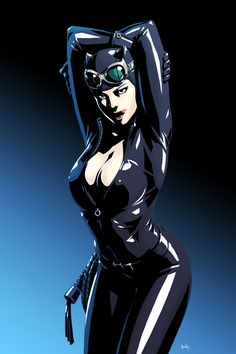 Catwoman by kit-kit-kit