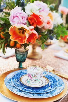 Gorgeous colours! 'Something Blue' Wedding Inspiration.