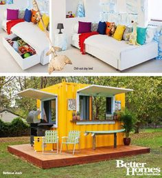 Shave ice shack on pinterest beach shack lifeguard and for Yahoo7 better homes and gardens episodes