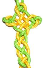 Celtic Cross. Just double the string so it's tighter. Look at other picture to see what it looks like. ~Libby