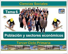 """Unidad 6 de Ciencias Sociales de 5º de Primaria: """"La población de España"""""""