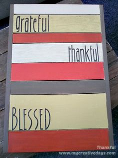 Thank You Decorations: Celebrate Thankfulness ♥ - Yesterfood's clipboard on Hometalk, the largest knowledge hub for home & garden on the web