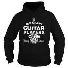 Old Grumpy Guitar Players Club Hoodie Guitar Brand T Shirts Cut Tees, Club Shirts, Guitar Players, Style And Grace, Branded T Shirts, Hoodies, Sweatshirts, Mens Fitness, Pullover