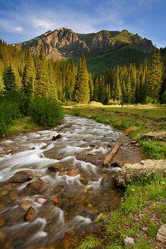 South Mineral Creek, Silverton, Colorado, US