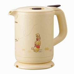 ZOJIRUSHI electric kettle [800 ml] Winnie the Pooh with Melody yellow CK-FZ08P-EZ