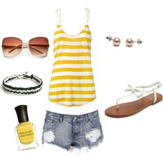 Such a cute summer outfit! I cant wait until its here!