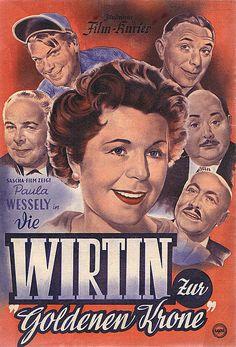Poster zum Film: Die Wirtin zur Goldenen Krone. 1955