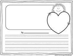 Classroom Freebies Too: Valentine's Day Writing