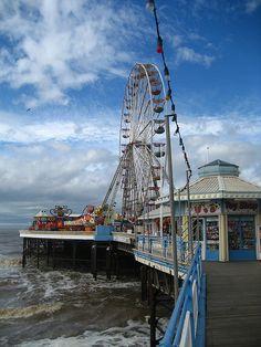 Blackpool, England British Seaside, British Isles, Blackpool Beach, Blackpool England, Preston Lancashire, Irish Sea, Roller Coasters, St Anne, Seaside Resort