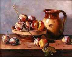 Painting Still Life, Candle Holders, Photo Wall, Candles, Pure Products, Oil Paintings, Google, Still Life, Sculpture