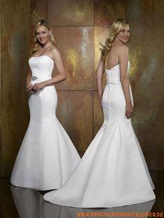 Schlichte Brautkleider im Meerjungfrauenstil