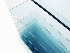 nendo: deep sea + mirror chair collections for glas italia Art Furniture, Furniture Design, Nendo Design, Deep Sea, Glass Table, Interiores Design, Architecture Details, Glass Art, Sea Glass