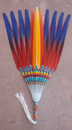 Native American Medicine Wheel, Native American Church, Native American Costumes, Native American Dress, Dream Catcher Native American, Native American Beading, Feather Painting, Feather Art, American Indian Crafts