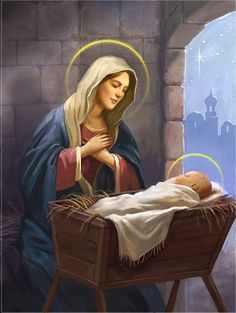 Divine Mother, Blessed Mother Mary, Blessed Virgin Mary, Jesus And Mary Pictures, Mary And Jesus, Jesus E Maria, Jesus Christ Images, Christian Artwork, Mama Mary