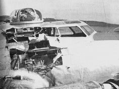 Images of damaged B-17 that made it home by miracle