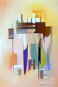 Digital Art - Abstract 16 by Rafael Salazar