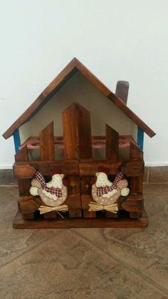 Casa de Huevos. pinura Contry