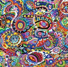abstract art by Thaneeya McArdle