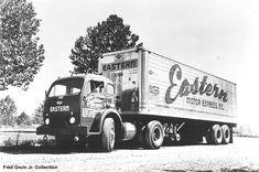 Antique Trucks, Vintage Trucks, Vintage Auto, Vintage Iron, Cool Trucks, Big Trucks, Semi Trucks, Old American Cars, Trailers
