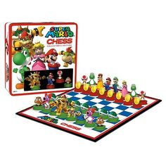 Super Mario Chess Game Collector's Edition - The Dark Carnival