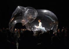 VICTORINE MULLER, e as suas belas esculturas infláveis.