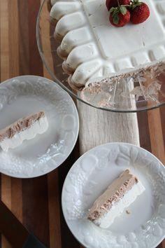 Amazing! Nutella, Honey, & Coconut Semifreddo made in the Fluted Square Tray. www.demarleathome.com