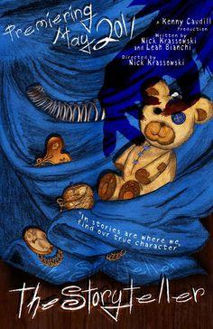 The Storyteller by Lauren Mabee, via Behance