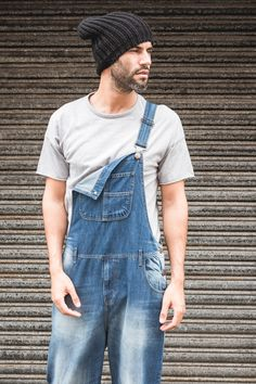 Love the look of bib overalls? Want comfort as well? If a baggy fit is more your style look no further. These Super Loose Fit Denim Bib Overalls are designed to be comfortable as well as practical. Men's Dungarees, Bib Overalls, Loose Fit, Running Shoes For Men, Mens Fitness, Indigo, Retro Style, Mens Fashion, Outfits