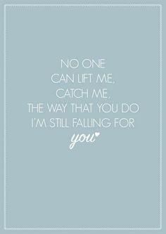 "Ellie Goulding ""Still Falling for You"" A4 Song Lyric Poster Print Art"
