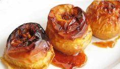 Manzanas asadas al horno con canela Bakery Recipes, Dessert Recipes, Cooking Recipes, Kinds Of Desserts, Healthy Desserts, Mini Cheesecakes, Granola, Fall Recipes, Food And Drink