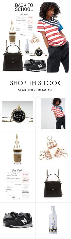 """Back to School"" by gonul-biancat ❤ liked on Polyvore featuring ASOS, Fendi and New Balance Classics"