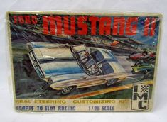 IMC Model Ford Mustang II 1/25 Scale, #102-150, Budd Anderson - Unbuilt Slot #IMC