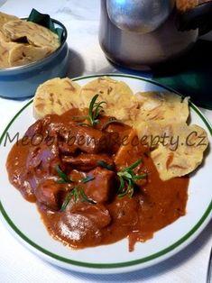 Myslíme si, že by sa vám mohli páčiť tieto piny - Goulash, Thai Red Curry, Stew, Food And Drink, Lunch, Dinner, Cooking, Ethnic Recipes, Nova