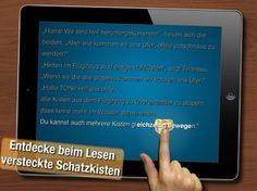 Lesemotivation Tiramisu Rex New York iPad App für Kinder