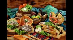 Comida típica de Guatemala.