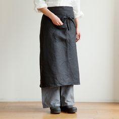 shop fog linen — Garçon Apron: Black--can't have too many aprons....