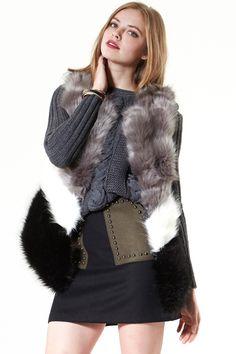Studded Heart Woolen Skirt Discover the latest fashion trends online at storets.com #denim jacket #denim pants #Suede Skirt