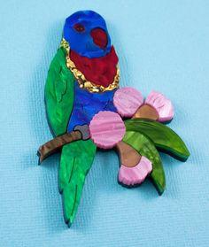 Rosemary the Rainbow Lorikeet - Edenki Studio