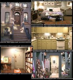 I don't care how small it is, I want Carrie Bradshaw's apartment! It's perfect!