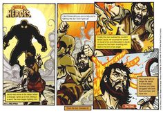 Anthony Castrillo, Bible Heroes