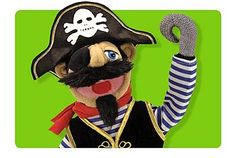 Puppets and Theaters from Melissa and Doug #puppets