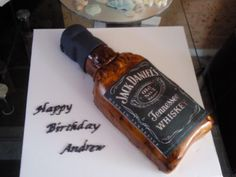 Jack daniels - Made for a male birthday