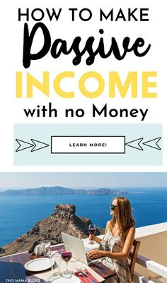 Everyone wants to make money while they sleep…but how to make passive income with no money or when you have little to invest? Here are 9 ways to make passive income for you! Yes, you can start generating passive income right now! - Earn Money at home Make Money From Home, Way To Make Money, Passive Income Streams, Earn Money, Money Fast, Online Jobs, Online Income, Finance Tips, Money Management